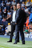 Pictured L-R: Swansea manager Michael Laudrup and West Brom manager Steve Clarke. Sunday 01 September 2013<br />