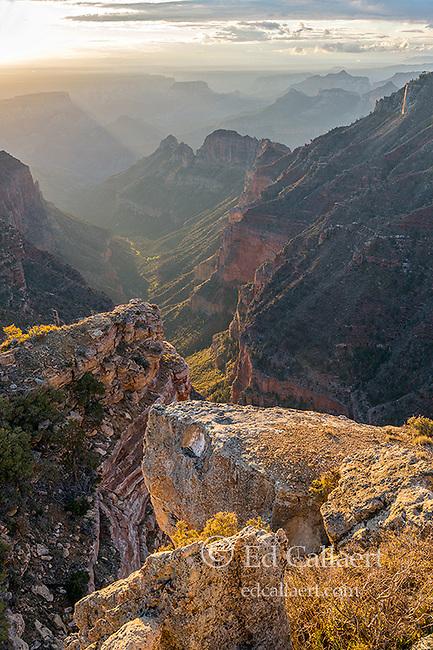 Sunrise, Nankoweap Canyon, Grand Canyon National Park, Arizona