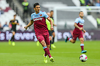Fabian Balbuena of West Ham United during the Premier League match between West Ham United and Manchester City at the London Stadium, London, England on 10 August 2019. Photo by David Horn.