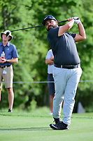 J.J. Spaun (USA) watches his tee shot on 3 during round 1 of the Shell Houston Open, Golf Club of Houston, Houston, Texas, USA. 3/30/2017.<br /> Picture: Golffile | Ken Murray<br /> <br /> <br /> All photo usage must carry mandatory copyright credit (&copy; Golffile | Ken Murray)