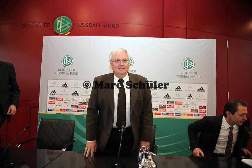 DFB Präsident Dr. Theo Zwanziger