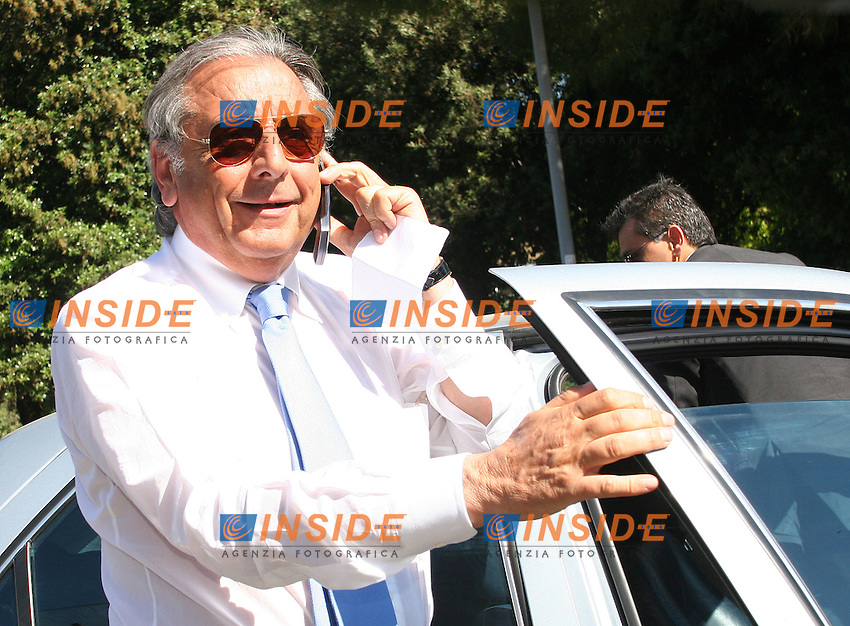 Roma, 25/05/ 2006. Assemblea Annuale Confindustria 2006. <br /> Nella foto Gianni Punzo, Presidente Interporto di Nola.<br /> Photo Samantha Zucchi Insidefoto