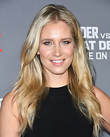 01 December 2018 - Los Angeles, California - Kristine Leahy. Heavyweight Championship Of The World 'Wilder vs. Fury' held at The Staples Center. <br /> CAP/ADM/BT<br /> &copy;BT/ADM/Capital Pictures