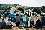 The publicity caravan passes by before the race during Stage 7 of the 2019 Tour de France running 230km from Belfort to Chalon-sur-Saone, France. 12th July 2019.<br /> Picture: ASO/Thomas Maheux | Cyclefile<br /> All photos usage must carry mandatory copyright credit (© Cyclefile | ASO/Thomas Maheux)