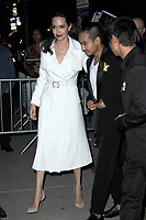 www.acepixs.com<br /> September 14, 2017 New York City<br /> <br /> Angelina Jolie and Maddox Jolie-Pitt seen on September 14, 2017 in New York City.<br /> <br /> Credit: Kristin Callahan/ACE Pictures<br /> <br /> <br /> Tel: (646) 769 0430<br /> e-mail: info@acepixs.com