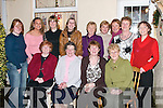 LADIES: Ladies gathered at Kit Ryan's House, Kevin Barrys Villas, on Saturday night for Womens Christmas. Front l-r: Tess Fitzgerald, Judy Miller, Kit Ryan and Kathleen Hennessy. Back l-r: Sarah O'Brien, Diana Pototzki, Leanne Ryan, Mary Fitzpatrick, Theresa O'Donoghue, Norma O'Reilly, Maureen Guerin, Helen McElligott and Naula O'Brien.