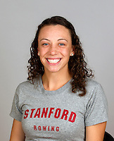 Jackie Huddle  with Stanford women's rowing ltw team