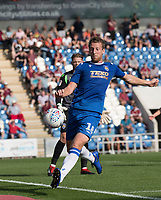Tom Eastman of Colchester United during Colchester United vs Northampton Town, Sky Bet EFL League 2 Football at the JobServe Community Stadium on 24th August 2019