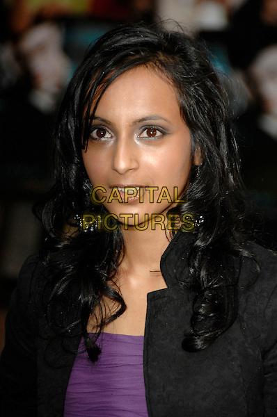 """SHEFALL CHOWDHURY.Arrivals - """"Harry Potter and the Order of the Phoenix"""".European premiere, Odeon cinema, Leicester Square.London, England, 3rd July 2007..portrait headshot.Ref: CAP/PL.©Phil Loftus/Capital Pictures."""