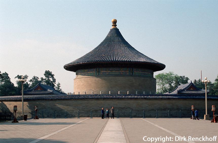 Himmelsgewölbe des Himmelstempel (TianTan), Peking, China, Unesco-Weltkuturerbe