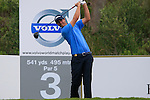 Nicolas Colsaerts (BEL) tees off on the 3rd tee during the afternoon session on Day 2 of the Volvo World Match Play Championship in Finca Cortesin, Casares, Spain, 20th May 2011. (Photo Eoin Clarke/Golffile 2011)