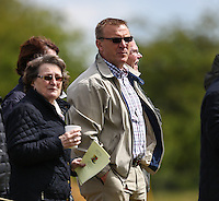 Former Premier League referee, Graham Poll, watches the Bedfordshire County Football League match between Ampthill Town U18 and Renhold United Reserves at Shefford Sports Club, Shefford, England on 30 April 2016. Photo by David HornPRiME Media Images.