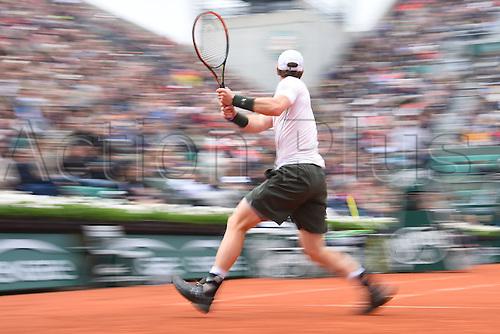 29.05.2016. Stade Roland Garros, Paris, France. Roland Garros French Open Tennis Day 8.  Andy Murray (GB)