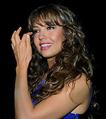 """Washington, DC - October 13, 2009 -- Performer Thalia attends a White House Music Series """"Fiesta Latina"""" on the South Lawn of the White House in Washington on Tuesday, October 13, 2009. .Credit: Alexis C. Glenn / Pool via CNP"""