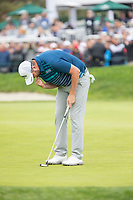 26th January 2020, Torrey Pines, La Jolla, San Diego, CA USA;  Marc Leishman reacts to making his final putt during the final round of the Farmers Insurance Open at Torrey Pines Golf Club on January 26, 2020 in La Jolla, California.