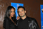 """One Life To Live's Laura Harrier """"Destiny Evans"""" poses with boyfriend Ian at New York Premiere Event for beloved series """"One Life To Live"""" on April 23, 2013 at NYU Skirball, New York City, New York - as The Online Network (TOLN) - OLTL - AMC begin airing on April 29, 2013 on Hulu and Hulu Plus.  (Photo by Sue Coflin/Max Photos)"""