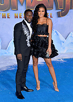 """LOS ANGELES, USA. December 10, 2019: Kevin Hart & Eniko Parrish at the world premiere of """"Jumanji: The Next Level"""" at the TCL Chinese Theatre.<br /> Picture: Paul Smith/Featureflash"""