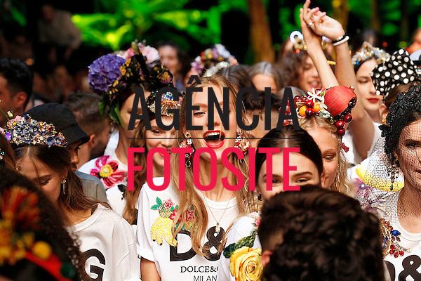 Dolce Gabbana<br /> <br /> MILAO - Verao 2017<br /> <br /> Setembro 2016<br /> <br /> foto: FOTOSITE