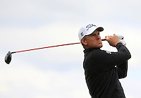 Robert Karlsson (SWE) on the 15th tee during Round 4 of the 2015 Alfred Dunhill Links Championship at the Old Course in St. Andrews in Scotland on 4/10/15.<br /> Picture: Thos Caffrey | Golffile