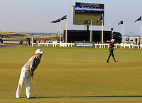 Damien McGrane (IRL) on the 18th fairway during Round 2 of the 2015 Alfred Dunhill Links Championship at Kingsbarns in Scotland on 2/10/15.<br /> Picture: Thos Caffrey | Golffile