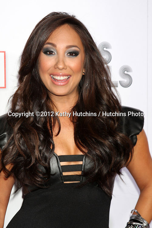 """LOS ANGELES - SEP 6:  Cheryl Burke arrives at the """"Icons and Idols"""" Party  at Chateau Marmont on September 6, 2012 in Los Angeles, CA"""