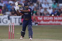 Varun Chopra of Essex in batting action during Essex Eagles vs Middlesex, Vitality Blast T20 Cricket at The Cloudfm County Ground on 6th July 2018