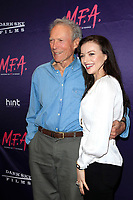 LOS ANGELES - OCT 2: Clint Eastwood, Francesca Eastwood at the premiere of Dark Sky Films' 'M.F.A.' at The London West Hollywood on October 2, 2017 in West Hollywood, California