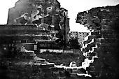 Wroclaw 18.08.2009 Poland<br /> The worst and the most dangerous district in Wroclaw ( Poland ), called by people &quot;The Bermuda Triangle&quot;.<br /> Photo by Adam Lach / Napo Images<br /> <br /> Na trojkacie bermudzkim brak placow zabaw, w zwiazkyu z tym dzieci musza sie bawic w okolicach zniszczonych murow czy domow.<br /> Najbardziej nabezpieczna dzielnica we Wroclawiu zwana przez ludzi Trojkatem Bermudzkim.<br /> Fot Adam Lach / Napo Images