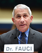 Director of the National Institute for Allergy and Infectious Diseases Dr. Anthony Fauci testifies before the House Committee on Energy and Commerce on the Trump Administration's Response to the COVID-19 Pandemic, on Capitol Hill in Washington, DC on Tuesday, June 23, 2020.    <br /> Credit: Kevin Dietsch / Pool via CNP