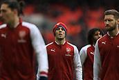 10th February 2018, Wembley Stadium, London England; EPL Premier League football, Tottenham Hotspur versus Arsenal; Jack Wilshere of Arsenal