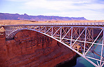 Navajo Bridge over Colorado River, Arizona