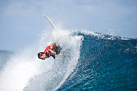 ARITZ ARANBURU (EUK)  TEAHUPOO, Tahiti (Tuesday, May 19, 2009) - The 2009 Billabong Pro Tahiti presented by Air Tahiti Nui was won  today  by American surfer BOBBY MARTINEZ (USA) with Australian TAJ BURROW (AUS)  as runner up. Starting at 9 am the contest ran through to the lat afternoon final in 1.5 meter waves.. Basque surfer ARTIZ ARANBURU (EUK) and MICHAEL CAMPBELL (AUS) finished in = 3rd place..The event was Stop No. 3 of 10 on the 2009 ASP World Tour and boasted a waiting period from May 9 through May 20, 2009..The contest brought together 45 of the world's best surfers charging the heaviest wave on earth in one of the most pristine locations on the planet..This year's event will ran with the new format, seeding all competitors directly into man-on-man elimination heats, with the Top 16 seeded directly into Round 2 while the remaining surfers battle it out in Round 1...Photo: joliphotos.com