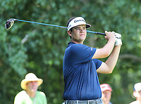 Potomac, MD - July 1, 2018: Beau Hossler looks at his tee shot during final round at the Quicken Loans National Tournament at TPC Potomac  in Potomac, MD, July 1, 2018.  (Photo by Elliott Brown/Media Images International)