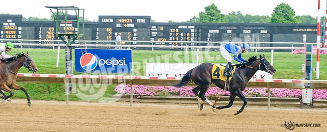 Lataam winning at Delaware Park on 7/20/15