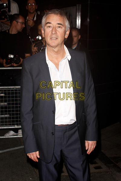 Denis Lawson.'Perfect Sense' film UK premiere held at the Curzon Soho - Arrivals.London, England..October 4th, 2011.half length shirt suit black white  .CAP/AH.©Adam Houghton/Capital Pictures.