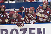 Nathan Gerbe, Matt Greene, Joe Rooney, Benn Ferreiro - The University of Wisconsin Badgers defeated the Boston College Eagles 2-1 on Saturday, April 8, 2006, at the Bradley Center in Milwaukee, Wisconsin in the 2006 Frozen Four Final to take the national Title.