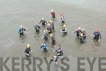 7 FROGS TRIATHLON: The start of the 7 Frogs Triathlon in Castlegregory on Saturday.