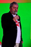 BRASÍLIA, DF, 21.06.2014 – CONVENÇÃO NACIONAL DO PT – O ex presidente Luiz Inácio Lula da Silva durante Convenção Nacional do PT para votação dos delegados para a reeleição da presidente Dilma Rousseff, realizada no Centro de Convenções Brasil 21, em Brasília, neste sábado, 21. (Foto: Ricardo Botelho / Brazil Photo Press)