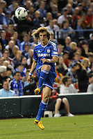 David Luiz (5) Chelsea in action..Manchester City defeated Chelsea 4-3 in an international friendly at Busch Stadium, St Louis, Missouri.