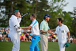 Jonas Blixt during the fourth round of the 2014 Masters held in Augusta, GA at Augusta National Golf Club on Sunday, April 13, 2014.
