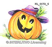 Interlitho, STILL LIFE STILLLEBEN, NATURALEZA MORTA, paintings+++++,KL4472/6,#i# stickers,halloween, pumpkin,