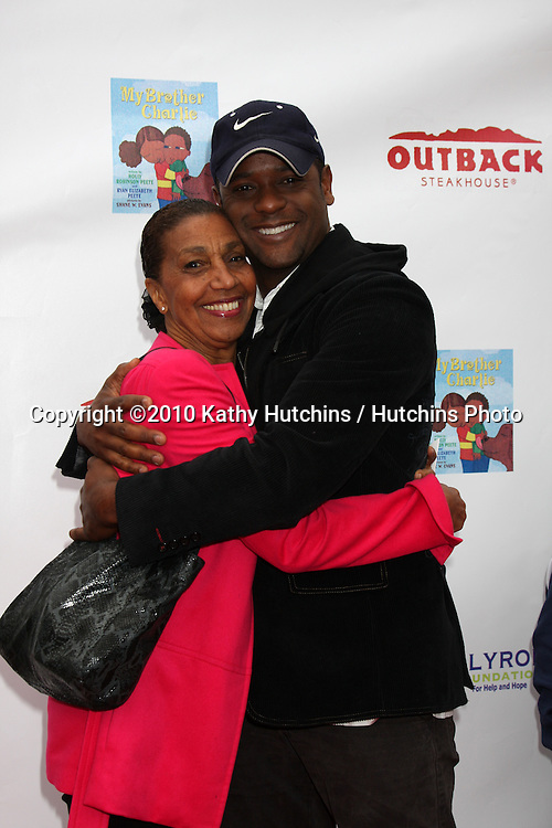 Dolores Robinson & Blair Underwood.arrives at the My Brother Charlie Book Launch Celebration.Culver Studios.Culver City, CA.April 11, 2010.©2010 Kathy Hutchins / Hutchins Photo...