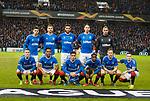 20.02.2020 Rangers v SC Braga: Rangers team