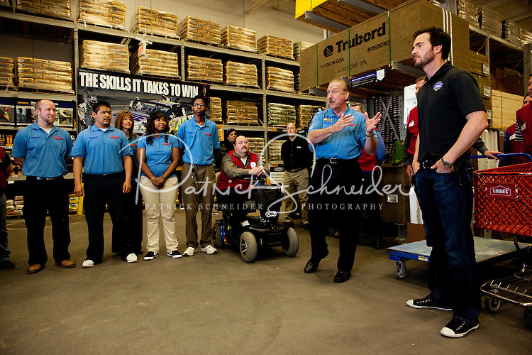 NASCAR  driver Jimmie Johnson's visit to Lowe's of Atlanta-Edgewood, GA  Store# 1875 for the Tool Box for Education event.