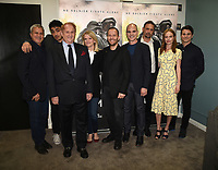 "LOS ANGELES, CA - MARCH 25: (L-R) Production Designer Seth Reed, E.J. Bonilla, Executive Producer Mike Medavoy, writer Martha Raddatz, Executive Producer Mikko Alanne, Michael Kelly, Jeremy Sisto, Kate Bosworth, and Jason Ritter attend the screening and panel discussion for National Geographic's ""The Long Road Home"" at the Harmony Gold Theater on March 25, 2018 in Los Angeles, California. (Photo by Frank Micelotta/NatGeo/PictureGroup)"