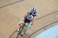 Australia's Anna Meares in the Women Sprint at the 2014 Oceania Track Championships, Sit Zero Fees Velodrome, Invercargill, New Zealand, Friday, November 22, 2013. Photo: Dianne Manson / NINZ