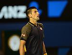 Novak Djokovic (SRB) Defeats Stanislaus Wawrinka (SUI) 1-6, 7-5, 6-4, 6-7, 12-10
