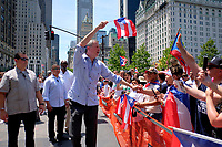 www.acepixs.com<br /> <br /> June 11 2017, New York City<br /> <br /> Mayor Bill de Blasio at the Puerto Rican Day Parade on fifth Avenue on June 11 2017 in New York City<br /> <br /> By Line: Curtis Means/ACE Pictures<br /> <br /> <br /> ACE Pictures Inc<br /> Tel: 6467670430<br /> Email: info@acepixs.com<br /> www.acepixs.com