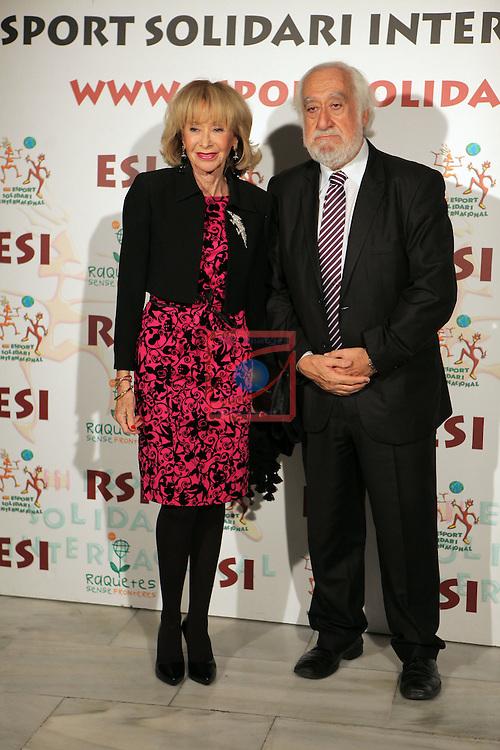XIe Sopar Solidari d'ESI (Esport Solidari Internacional).<br /> Josep Maldonado &amp; Maria Teresa Fernandez de la Vega.