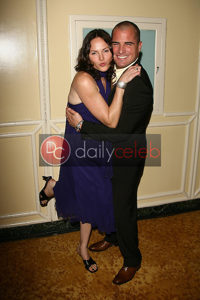 Jorja Fox and George Eads<br />